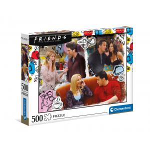 Clementoni - 35090 - Puzzle Friends - 500 pièces (460224)