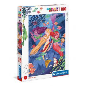 Clementoni - 29307 - Puzzle 180 pièces - Sirènes (460254)