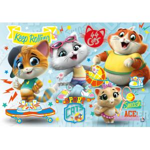 Clementoni - 26063 - Puzzle 60 pièces - 44 Cats (460316)