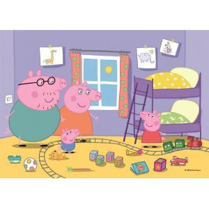 Clementoni - 24778 - Puzzle 2x20 pièces - Peppa Pig (460360)