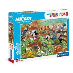 Mickey - 23759 - Puzzle 104 pièces Maxi - Mickey (460374)