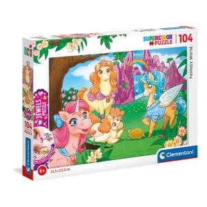 Clementoni - 20179 - Puzzle Jewel 104 pièces - Fantasy World (460448)