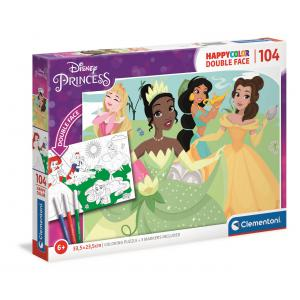 Clementoni - 25714 - Puzzle 104 pièces - Princess (460502)