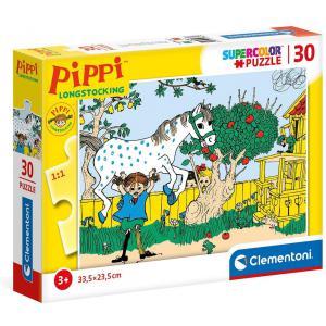 Clementoni - 20265 - Puzzle 30 pièces - Fifi Brindacier (460858)