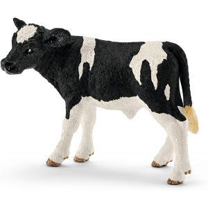 Schleich - 13798 - Figurine Veau Holstein - Dimension : 7,5 cm x 3,8 cm x 5 cm (461148)