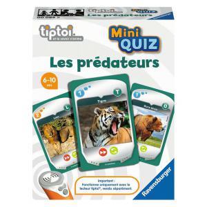 Ravensburger - 00086 - tiptoi® - Mini Quiz - Les prédateurs (461186)