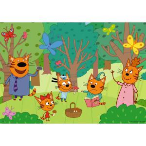 Ravensburger - 05079 - Puzzles 2x12 pièces - Journée nature en famille / Kid-E-Cats (461202)