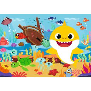 Ravensburger - 05123 - Puzzles 2x12 pièces - Baby Shark explore l'océan (461218)