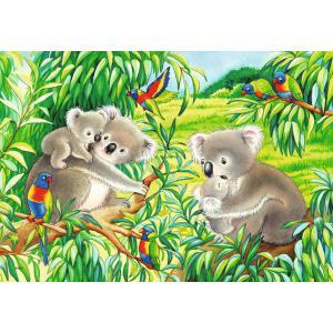 Ravensburger - 07820 - Puzzles 2x24 pièces - Mignons koalas et pandas (461246)
