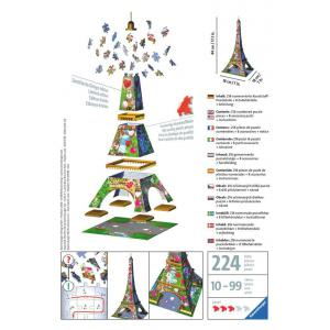 Ravensburger - 11183 - Puzzle 3D Tour Eiffel Love Edition (461248)