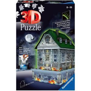 Ravensburger - 11254 - Puzzle 3D Maison hantée d'Halloween (461262)