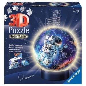 Ravensburger - 11264 - Puzzle 3D Ball 72 p illuminé - Les astronautes (461272)