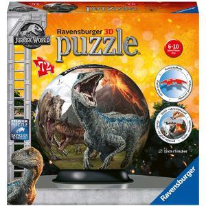 Ravensburger - 11757 - Puzzle 3D rond 72 pièces - Jurassic World (461278)
