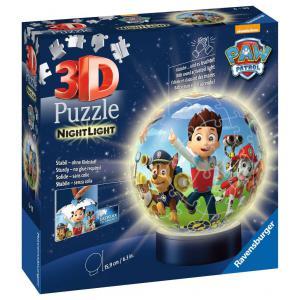 Ravensburger - 11842 - Puzzle 3D Ball 72 p illuminé - Pat'Patrouille (461280)