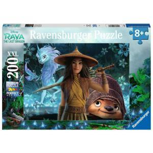 Ravensburger - 12931 - Puzzle 200 pièces XXL - Raya, Tuk Tuk et Sisu / Disney Raya et le dernier dragon (461286)