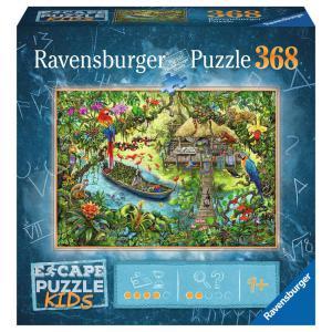 Ravensburger - 12934 - Escape puzzle Kids - Un safari dans la jungle (461288)