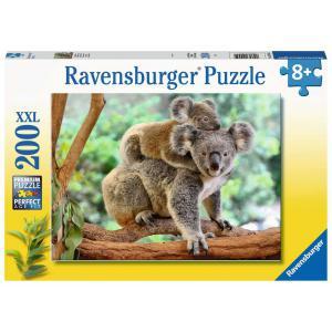 Ravensburger - 12945 - Puzzle 200 pièces XXL - La famille koala (461296)