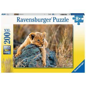 Ravensburger - 12946 - Puzzle 200 pièces XXL - Le petit lionceau (461298)