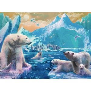 Ravensburger - 12947 - Puzzle 300 pièces XXL - Au royaume des ours polaires (461300)