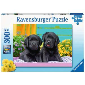 Ravensburger - 12950 - Puzzle 300 pièces XXL - Labradors noirs (461304)