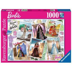 Ravensburger - 16502 - Puzzle 1000 pièces - Barbie autour du monde (461312)