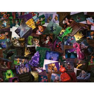 Ravensburger - 16506 - Puzzle 2000 pièces - Les Méchants Disney (Collection Disney Villainous) (461314)