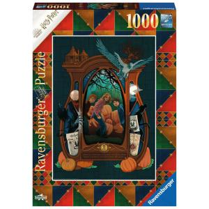 Ravensburger - 16517 - Puzzle 1000 pièces - Harry Potter et le prisonnier d'Azkaban (Collection Harry Potter MinaLima) (461316)