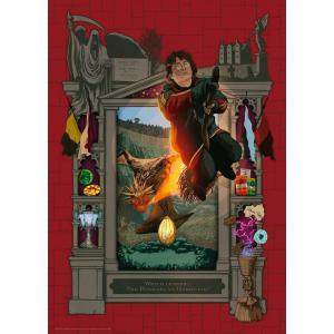 Ravensburger - 16518 - Puzzle 1000 pièces - Harry Potter et la Coupe de Feu (Collection Harry Potter MinaLima) (461318)