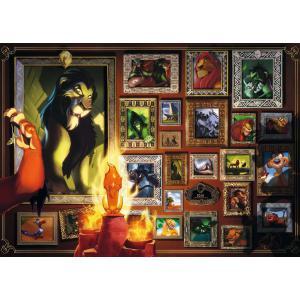 Ravensburger - 16524 - Puzzle 1000 pièces - Scar (Collection Disney Villainous) (461326)