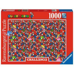 Ravensburger - 16525 - Puzzle 1000 pièces - Super Mario (Challenge Puzzle) (461328)