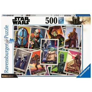 Ravensburger - 16561 - Puzzle 500 pièces - Baby Yoda / Star Wars Mandalorian (461330)