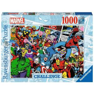 Ravensburger - 16562 - Puzzle 1000 pièces - Marvel (Challenge Puzzle) (461332)
