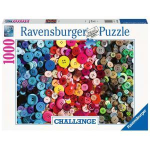 Ravensburger - 16563 - Puzzle 1000 pièces - Boutons (Challenge Puzzle) (461334)