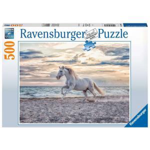 Ravensburger - 16586 - Puzzle 500 pièces - Cheval sur la plage (461346)