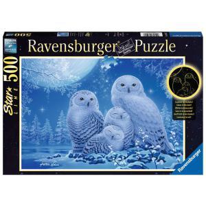 Ravensburger - 16595 - Puzzle 500 p Star Line - Chouettes au clair de lune (461350)