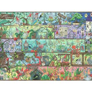 Ravensburger - 16712 - Puzzle 1500 pièces - Nains sur l'étagère (461358)