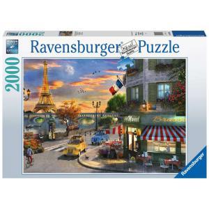 Ravensburger - 16716 - Puzzle 2000 pièces - Une soirée romantique à Paris (461362)
