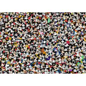 Ravensburger - 16744 - Puzzle 1000 pièces - Mickey Mouse (Challenge Puzzle) (461378)