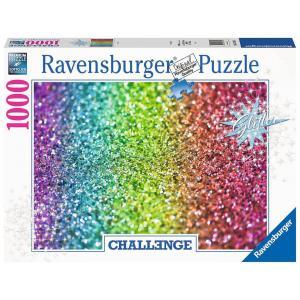 Ravensburger - 16745 - Puzzle 1000 pièces - Paillettes (Challenge Puzzle) (461380)