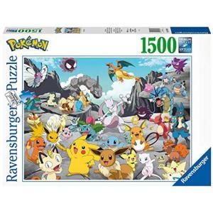Ravensburger - 16784 - Puzzle 1500 pièces - Pokémon Classics (461384)