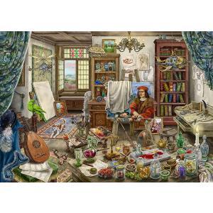 Ravensburger - 16843 - Escape puzzle Atelier d'artist (461386)