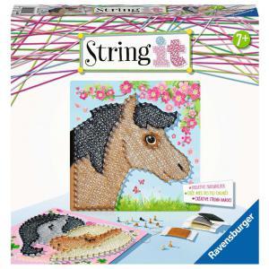 Ravensburger - 18119 - String it midi: Horses (461396)