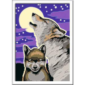 Ravensburger - 28792 - Numéro d'art - petit - Cri du loup (461522)