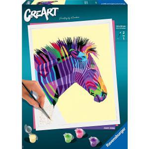 Ravensburger - 28994 - CreArt - grand - zebre (461538)