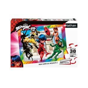 Miraculous - 86385 - Puzzle 30 pièces - Ladybug et ses amis super-héros / Miraculous (461644)