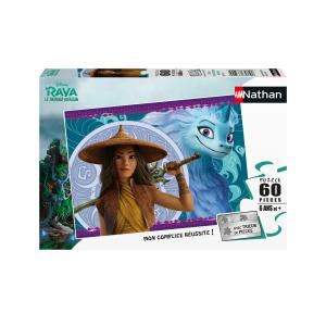 Disney - 86576 - Puzzle 60 pièces - Disney Raya et le dernier dragon (461652)