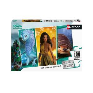 Disney - 86771 - Puzzle 100 pièces - Raya l'aventurière / Disney Raya et le dernier dragon (461654)