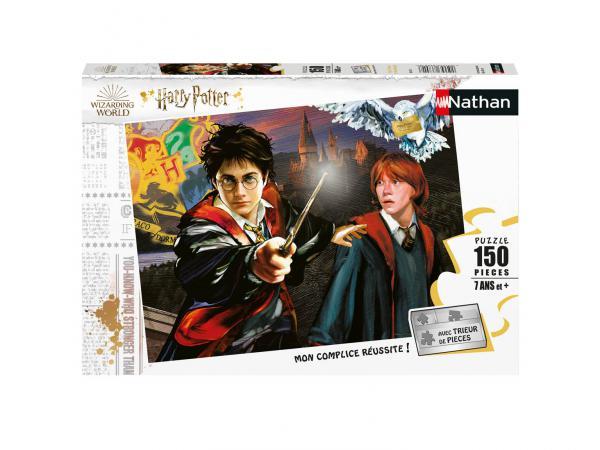 Puzzle 150 pièces - harry potter et ron weasley