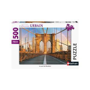 Nathan puzzles - 87124 - Puzzle N 500 pièces - Le pont de Brooklyn (461670)