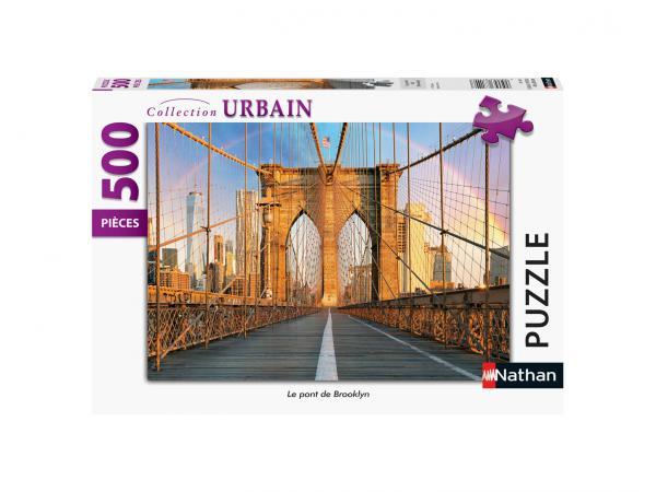 Puzzle n 500 pièces - le pont de brooklyn